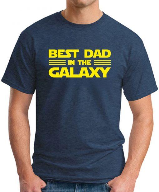 BEST DAD IN THE GALAXY navy