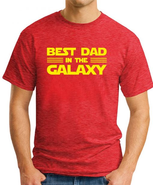 BEST DAD IN THE GALAXY red