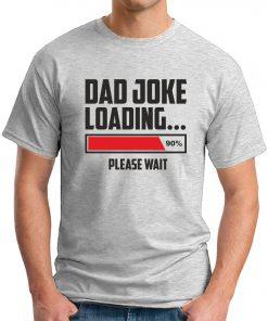 DAD JOKE LOADING ash grey