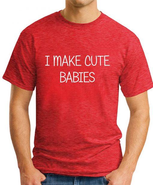 I MAKE CUTE BABIES red