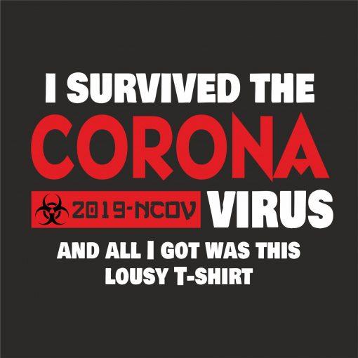 I SURVIVED THE CORONA VIRUS thumbnail