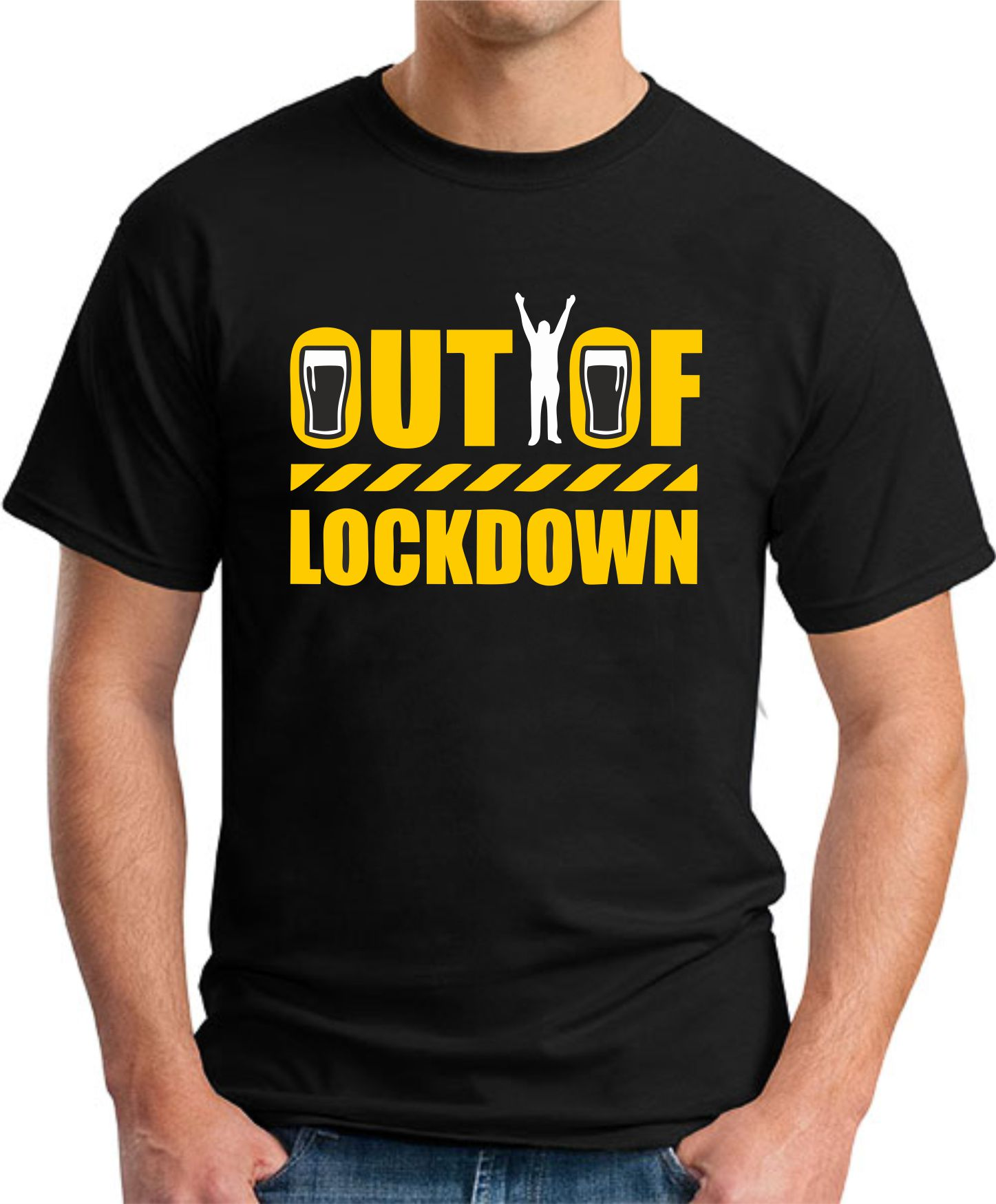 OUT OF LOCKDOWN black
