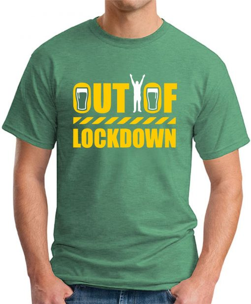 OUT OF LOCKDOWN green