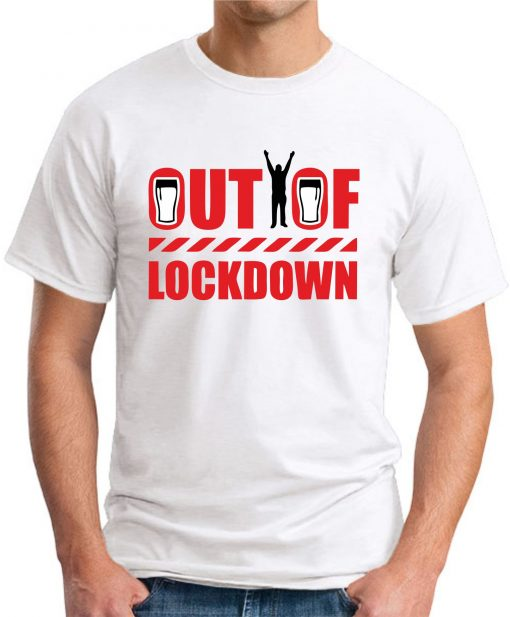 OUT OF LOCKDOWN white