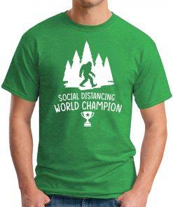SOCIAL DISTANCING WORLD CHAMPION green