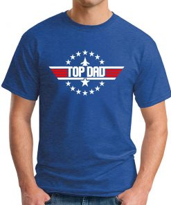 TOP DAD ROYAL BLUE