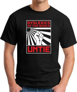 DYSLEXICS OF THE WORLD UNTIE black
