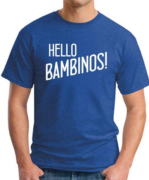 HELLO BAMBINOS royal blue