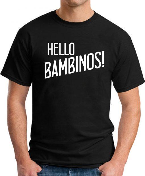 HELLO BAMBINOS black