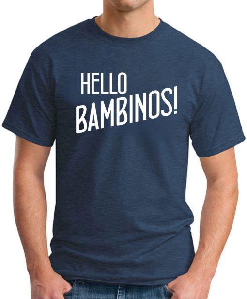 HELLO BAMBINOS navy