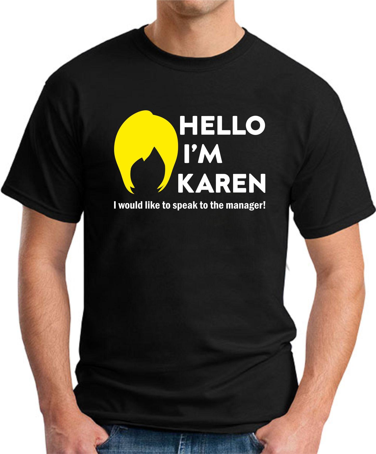 HELLO I'M KAREN black