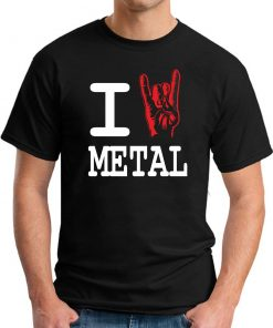 I HEART METAL black