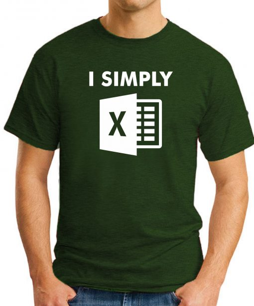 I SIMPLY EXCEL forest green