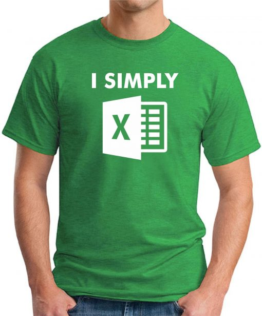 I SIMPLY EXCEL green