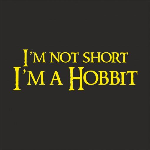 I'M NOT SHORT, I'M A HOBBIT thumbnail