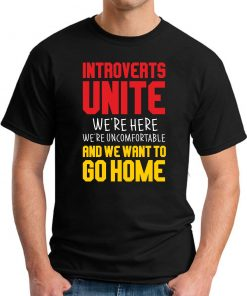 INTROVERTS UNITE black