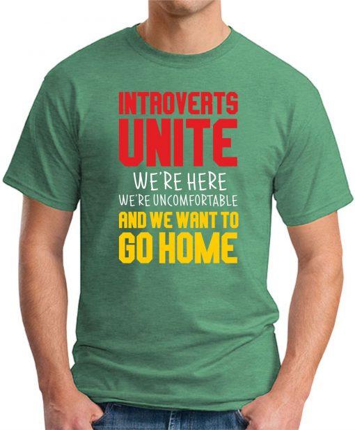 INTROVERTS UNITE green