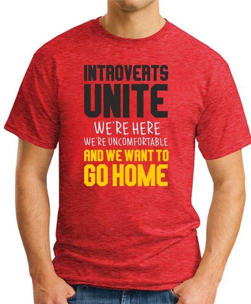 INTROVERTS UNITE red