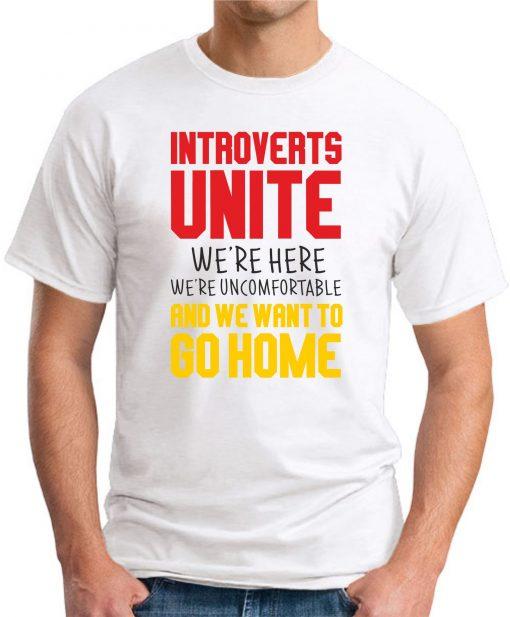 INTROVERTS UNITE white