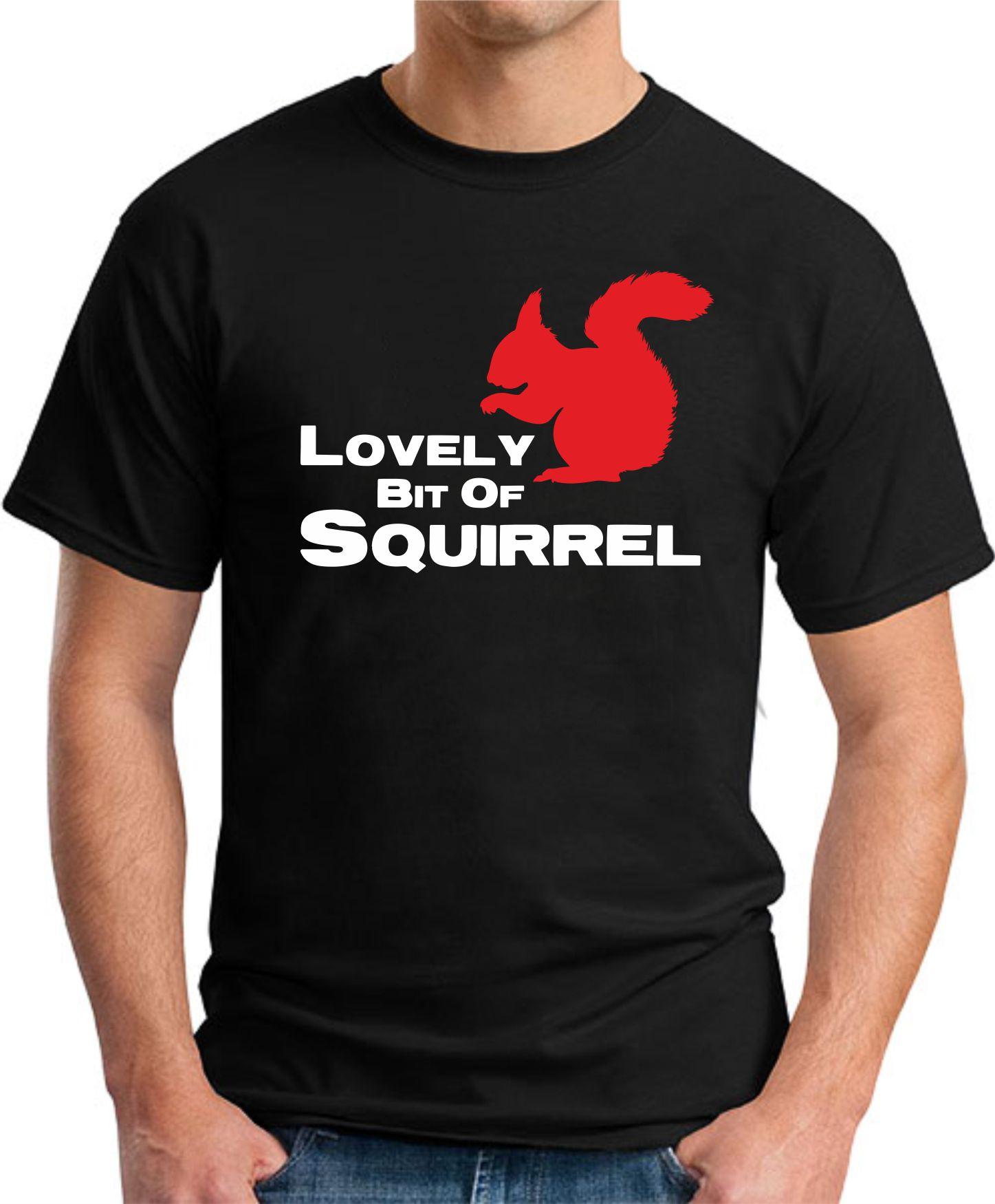 LOVELY BIT OF SQUIRREL black