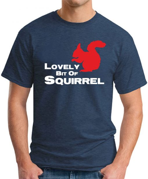LOVELY BIT OF SQUIRREL navy