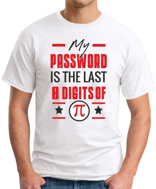 MY PASSWORD IS THE LAST 8 DIGITS OF PI white