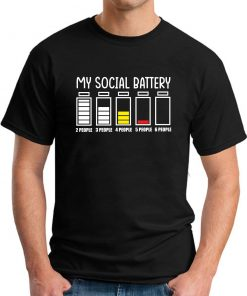 MY SOCIAL BATTERY black