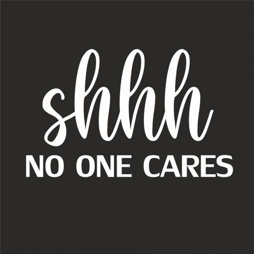SHHH NO ONE CARES thumbnail