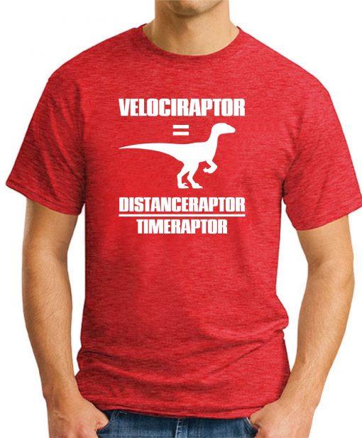 VELOCIRAPTOR = DISTANCERAPTOR / TIMERAPTOR red