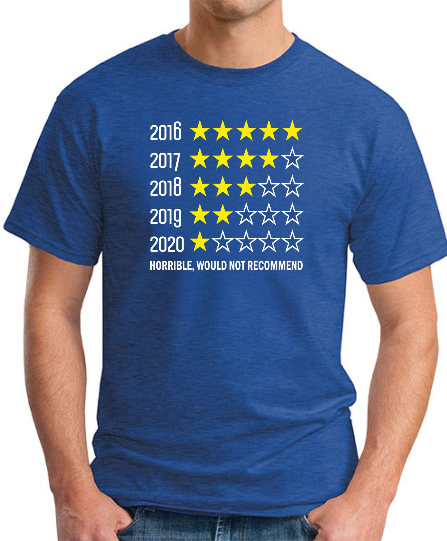 5 YEAR REVIEW royal blue