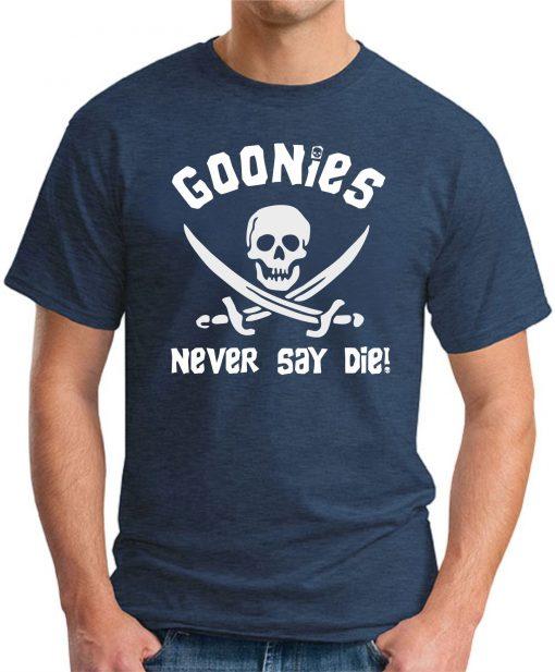 GOONIES NEVER SAY DIE navy