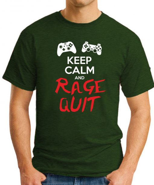 KEEP CALM AND RAGE QUIT forest