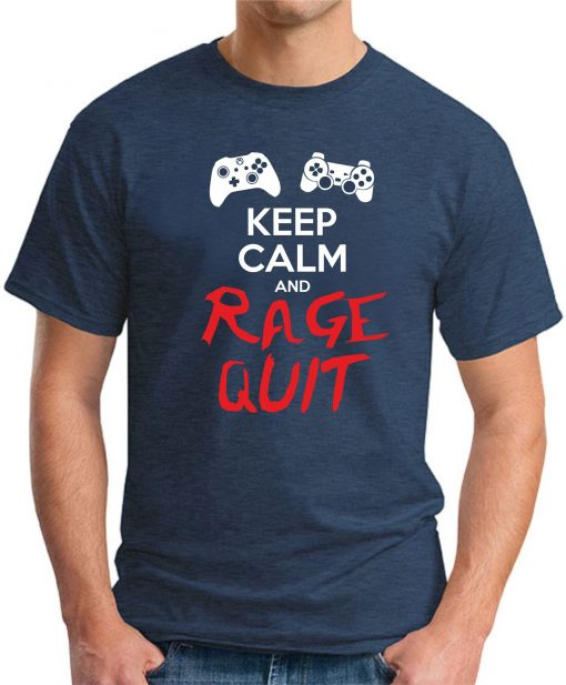 KEEP CALM AND RAGE QUIT navy