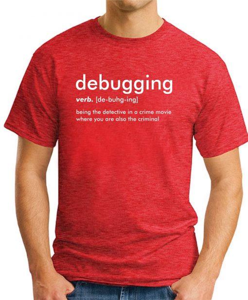 DEBUGGING red