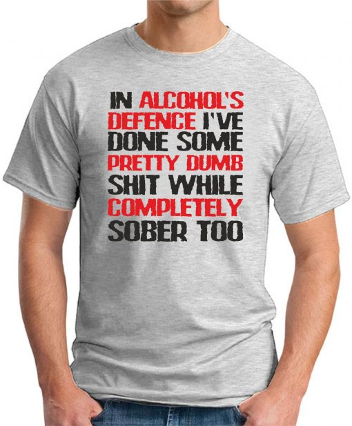 IN ALCOHOLS DEFENCE ash grey
