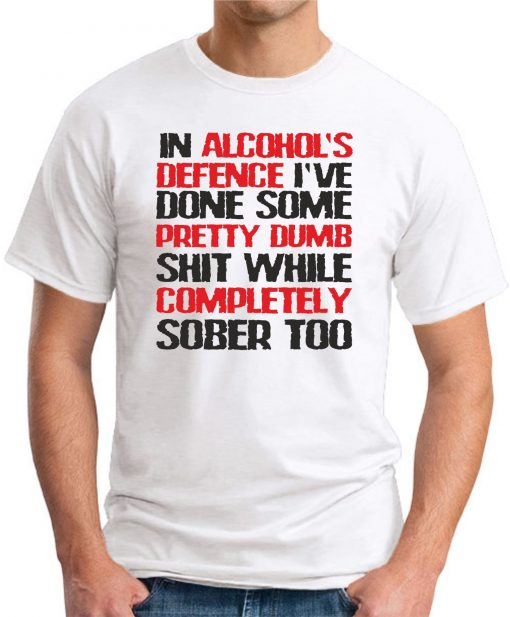 IN ALCOHOLS DEFENCE white