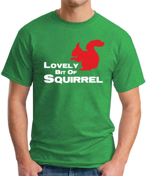 lovely bit of squirrel green