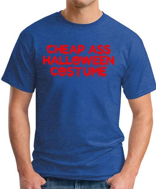 CHEAP ASS HALLOWEEN COSTUME royal blue