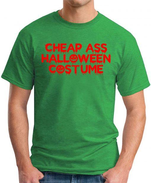 CHEAP ASS HALLOWEEN COSTUME green
