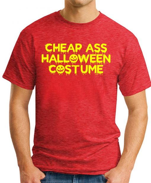 CHEAP ASS HALLOWEEN COSTUME red