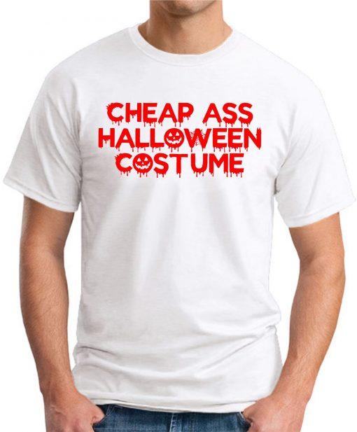 CHEAP ASS HALLOWEEN COSTUME white