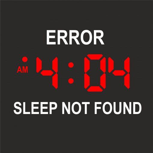 ERROR 404 SLEEP NOT FOUND thumbnail