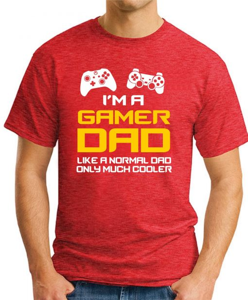 I'M A GAMER DAD red