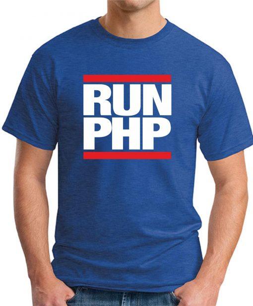 RUN PHP royal blue