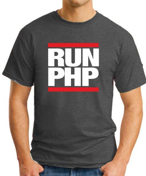RUN PHP dark heather