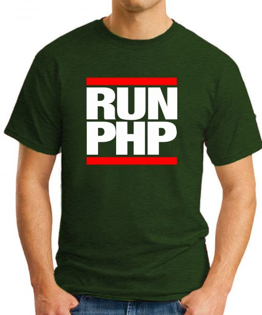 RUN PHP forest green