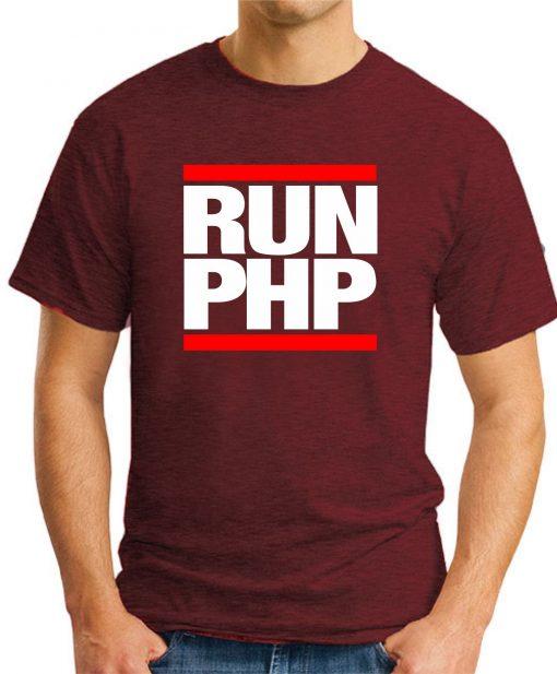 RUN PHP maroon