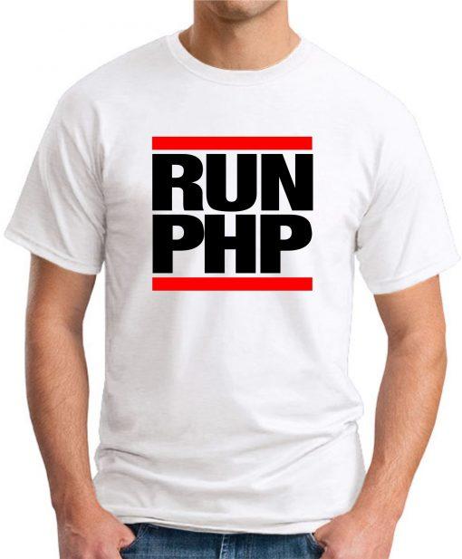 RUN PHP white
