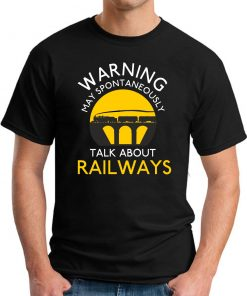 WARNING MAY SPONTANEOUSLY TALK ABOUT RAILWAYS black