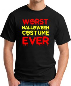 WORST HALLOWEEN COSTUME EVER BLACK